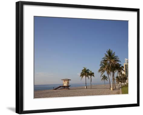 Hollywood Beach, Florida, USA-Angelo Cavalli-Framed Art Print