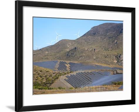 Solar Plant, Lucainena De Las Torres, Almeria, Andalucia, Spain, Europe-Marco Cristofori-Framed Art Print