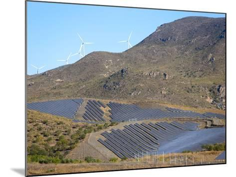 Solar Plant, Lucainena De Las Torres, Almeria, Andalucia, Spain, Europe-Marco Cristofori-Mounted Photographic Print