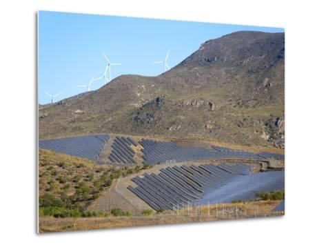 Solar Plant, Lucainena De Las Torres, Almeria, Andalucia, Spain, Europe-Marco Cristofori-Metal Print