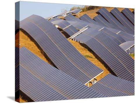Solar Plant, Lucainena De Las Torres, Almeria, Andalucia, Spain, Europe-Marco Cristofori-Stretched Canvas Print
