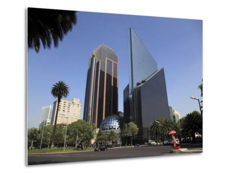 Mexican Stock Exchange Building, Centro Bursatil, Paseo De La Reforma, Reforma, Mexico City, Mexico-Wendy Connett-Metal Print