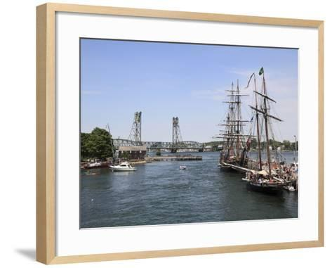 Tall Ships, Portsmouth, New Hampshire, New England, United States of America, North America-Wendy Connett-Framed Art Print