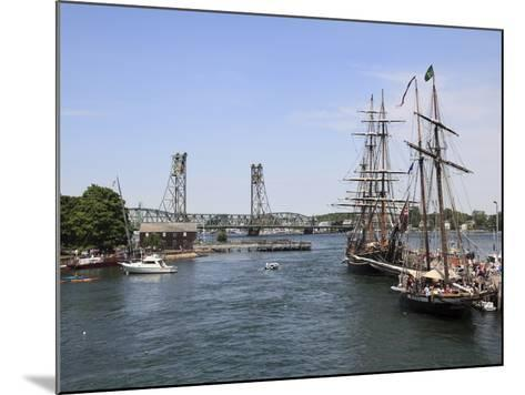 Tall Ships, Portsmouth, New Hampshire, New England, United States of America, North America-Wendy Connett-Mounted Photographic Print