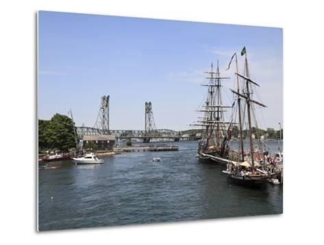 Tall Ships, Portsmouth, New Hampshire, New England, United States of America, North America-Wendy Connett-Metal Print