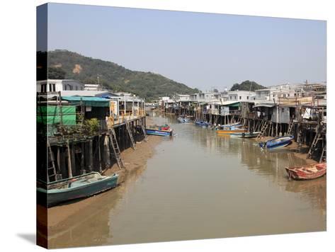 Stilt Houses, Tai O Fishing Village, Lantau Island, Hong Kong, China, Asia-Wendy Connett-Stretched Canvas Print