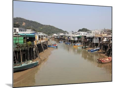Stilt Houses, Tai O Fishing Village, Lantau Island, Hong Kong, China, Asia-Wendy Connett-Mounted Photographic Print