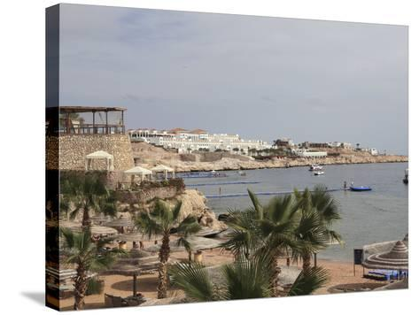 The Beach Area at the Savoy Resort at White Knight Beach, Sharm El-Sheikh, Egypt-Stuart Forster-Stretched Canvas Print