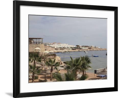 The Beach Area at the Savoy Resort at White Knight Beach, Sharm El-Sheikh, Egypt-Stuart Forster-Framed Art Print