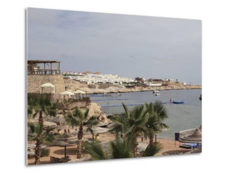 The Beach Area at the Savoy Resort at White Knight Beach, Sharm El-Sheikh, Egypt-Stuart Forster-Metal Print