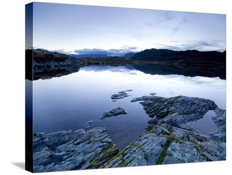 Loch Tollaidh at Dawn, Near Poolewe, Achnasheen, Wester Ross, Highlands, Scotland, United Kingdom-Lee Frost-Stretched Canvas Print