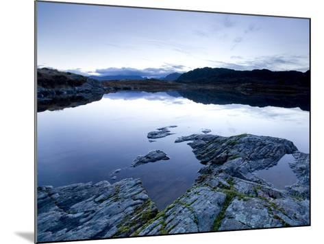 Loch Tollaidh at Dawn, Near Poolewe, Achnasheen, Wester Ross, Highlands, Scotland, United Kingdom-Lee Frost-Mounted Photographic Print