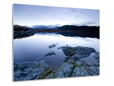 Loch Tollaidh at Dawn, Near Poolewe, Achnasheen, Wester Ross, Highlands, Scotland, United Kingdom-Lee Frost-Metal Print