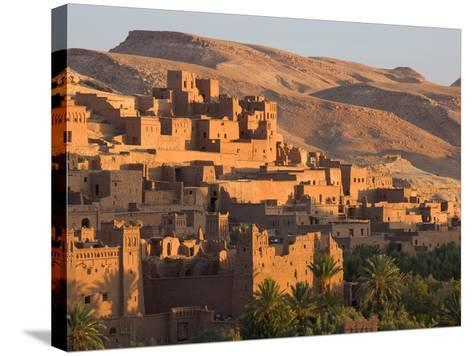 Kasbah Ait Benhaddou, Backdrop to Many Hollywood Epic Films, Near Ouarzazate, Morocco-Lee Frost-Stretched Canvas Print