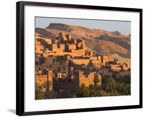 Kasbah Ait Benhaddou, Backdrop to Many Hollywood Epic Films, Near Ouarzazate, Morocco-Lee Frost-Framed Art Print