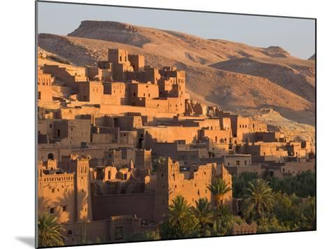 Kasbah Ait Benhaddou, Backdrop to Many Hollywood Epic Films, Near Ouarzazate, Morocco-Lee Frost-Mounted Photographic Print