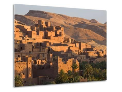 Kasbah Ait Benhaddou, Backdrop to Many Hollywood Epic Films, Near Ouarzazate, Morocco-Lee Frost-Metal Print
