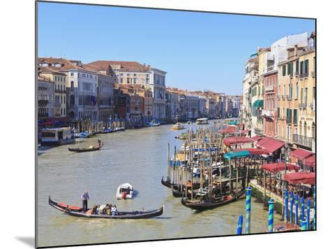 Grand Canal, Venice, UNESCO World Heritage Site, Veneto, Italy, Europe-Amanda Hall-Mounted Photographic Print