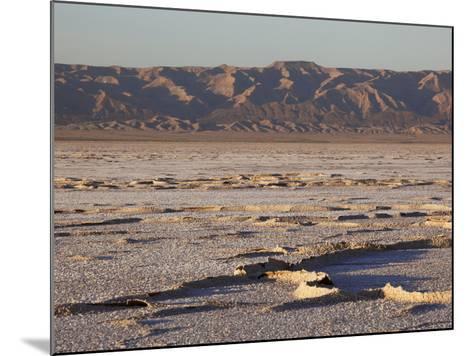 Chott El Jerid, Flat Dry Salt Lake Between Tozeur and Kebili, Tunisia, North Africa, Africa-Dallas & John Heaton-Mounted Photographic Print