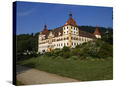 Eggenberg Castle, UNESCO World Heritage Site, Graz, Styria, Austria, Europe-Dallas & John Heaton-Stretched Canvas Print
