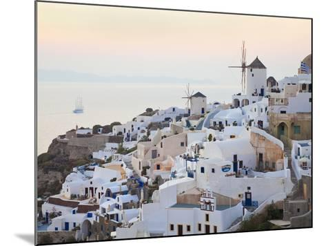 Village of Oia, Santorini (Thira), Cyclades Islands, Aegean Sea, Greek Islands, Greece, Europe-Gavin Hellier-Mounted Photographic Print