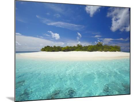 Uninhabited Island, Maldives, Indian Ocean, Asia-Sakis Papadopoulos-Mounted Photographic Print