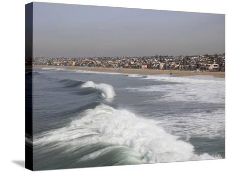 Hermosa Beach, Pacific Ocean, Los Angeles, California, United States of America, North America-Wendy Connett-Stretched Canvas Print