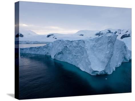 Glacier, Paradise Bay, Antarctic Peninsula, Antarctica, Polar Regions-Thorsten Milse-Stretched Canvas Print