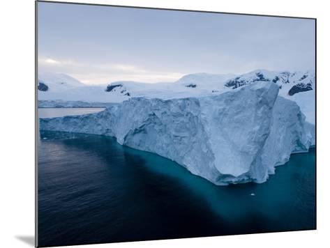 Glacier, Paradise Bay, Antarctic Peninsula, Antarctica, Polar Regions-Thorsten Milse-Mounted Photographic Print