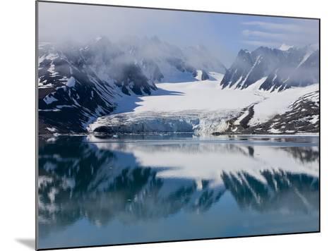 Glacier, Spitzbergen, Svalbard, Norway, Arctic, Scandinavia, Europe-Thorsten Milse-Mounted Photographic Print