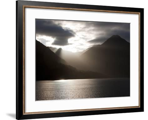 Fjord, Thomson Sound, South Island, New Zealand, Pacific-Thorsten Milse-Framed Art Print