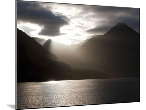 Fjord, Thomson Sound, South Island, New Zealand, Pacific-Thorsten Milse-Mounted Photographic Print