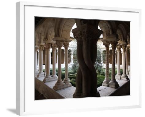 Saint-Sauveur Cathedral Cloister, Aix-En-Provence, Bouches Du Rhone, Provence, France, Europe--Framed Art Print