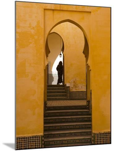 Mausoleum of Moulay Ismail, Meknes, Morocco, North Africa, Africa-Marco Cristofori-Mounted Photographic Print