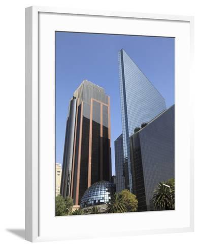 Mexican Stock Exchange Building, Centro Bursatil, Paseo De La Reforma, Reforma, Mexico City, Mexico-Wendy Connett-Framed Art Print