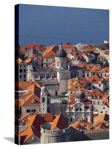 Dubrovnik, UNESCO World Heritage Site, Croatia, Europe-John Miller-Stretched Canvas Print