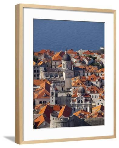 Dubrovnik, UNESCO World Heritage Site, Croatia, Europe-John Miller-Framed Art Print