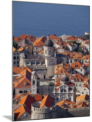 Dubrovnik, UNESCO World Heritage Site, Croatia, Europe-John Miller-Mounted Photographic Print