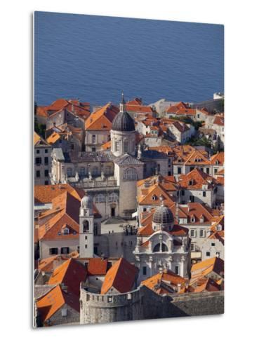 Dubrovnik, UNESCO World Heritage Site, Croatia, Europe-John Miller-Metal Print