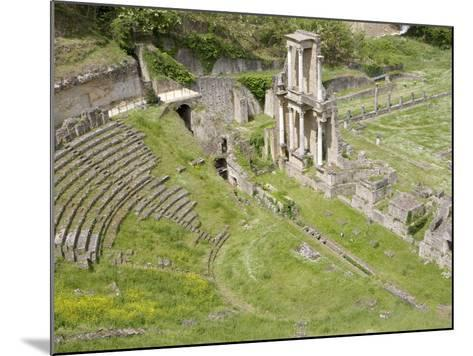 Roman Theater, Volterra, Tuscany, Italy, Europe--Mounted Photographic Print