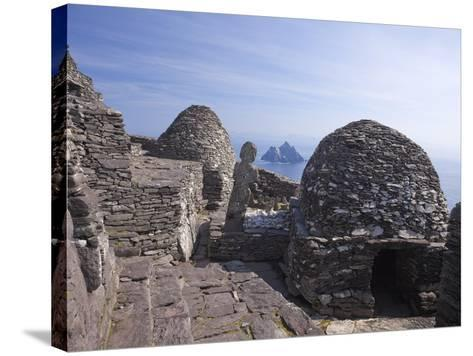 Celtic Monastery, Skellig Michael, UNESCO World Heritage Site, County Kerry, Republic of Ireland--Stretched Canvas Print