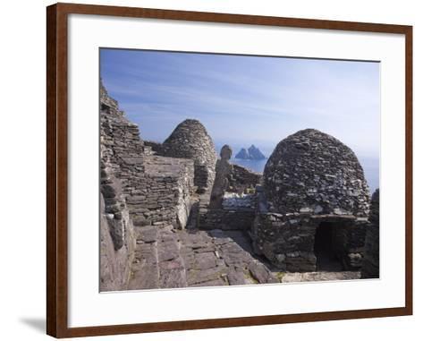 Celtic Monastery, Skellig Michael, UNESCO World Heritage Site, County Kerry, Republic of Ireland--Framed Art Print