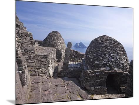 Celtic Monastery, Skellig Michael, UNESCO World Heritage Site, County Kerry, Republic of Ireland--Mounted Photographic Print