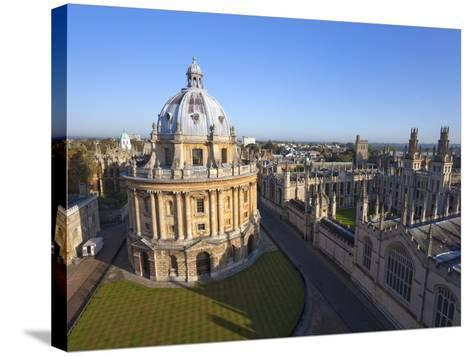 Radcliffe Camera and All Souls College, Oxford University, Oxford, England--Stretched Canvas Print