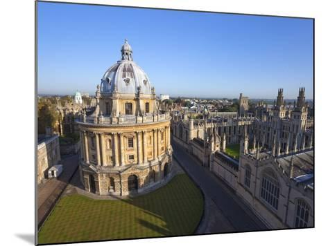 Radcliffe Camera and All Souls College, Oxford University, Oxford, England--Mounted Photographic Print