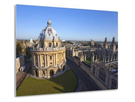 Radcliffe Camera and All Souls College, Oxford University, Oxford, England--Metal Print