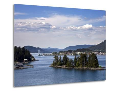Small Islands in Sitka Sound, Baranof Island, Southeast Alaska, USA--Metal Print