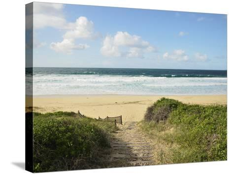 Beach at Hawks Nest, New South Wales, Australia, Pacific--Stretched Canvas Print