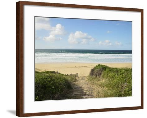Beach at Hawks Nest, New South Wales, Australia, Pacific--Framed Art Print