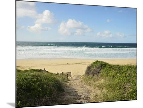 Beach at Hawks Nest, New South Wales, Australia, Pacific--Mounted Photographic Print